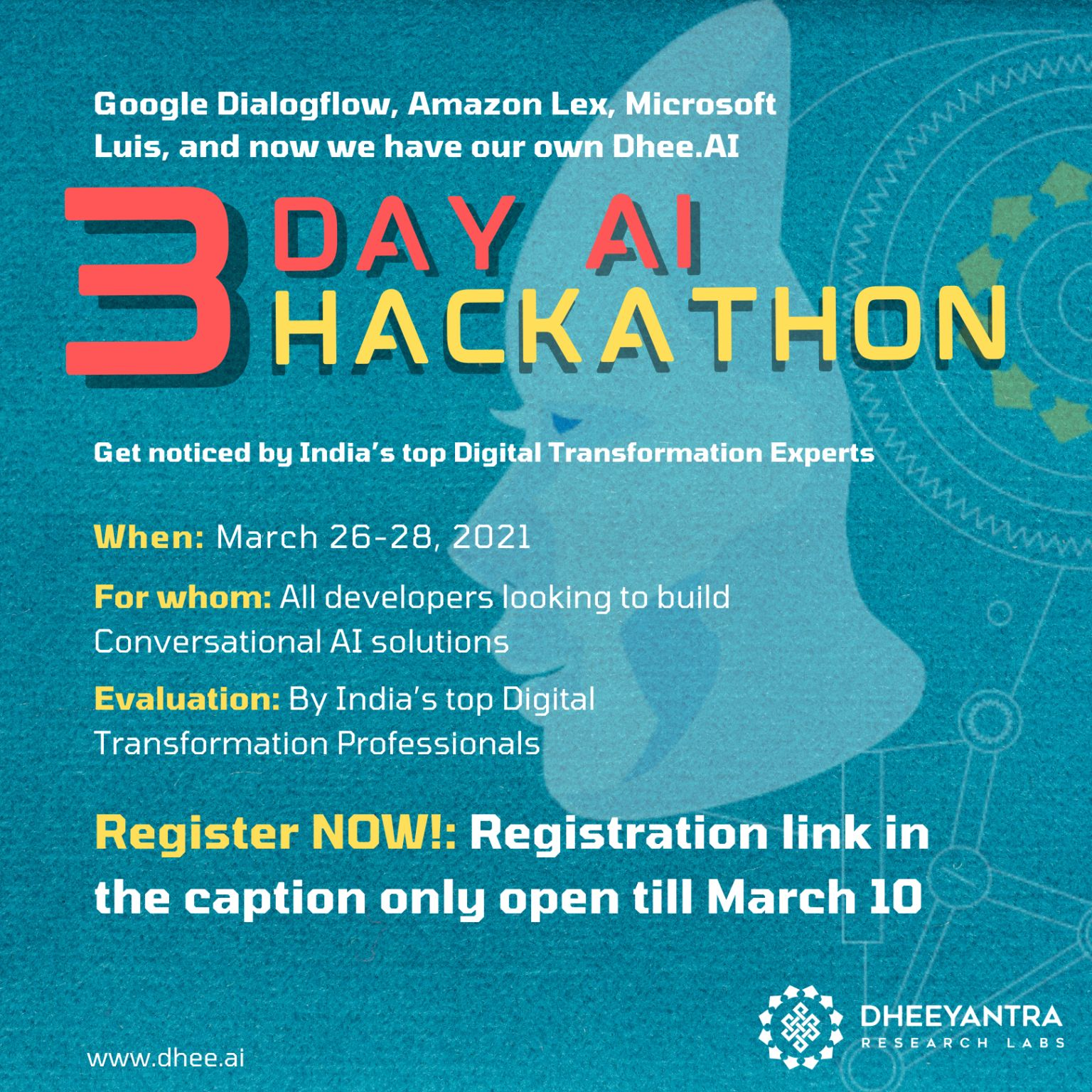 Register Now For Dheehackathon
